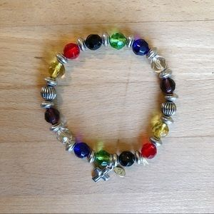 RAINBOW BEADED SALVATION BRACELET